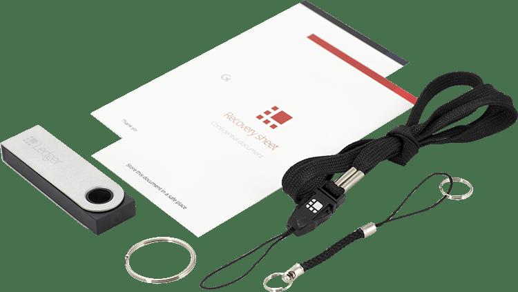 Ledger Nano S quick start pakket